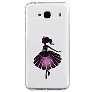 Para Funda Mi Diseños Funda Cubierta Trasera Funda Chica Sexy Suave TPU para Xiaomi