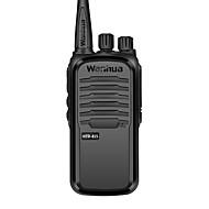 お買い得  -wanhua ハンドヘルド / アナログ 監視 >10KM >10KM 16 3500 mAh 6 W トランシーバー 双方向ラジオ