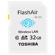 Toshiba 33GB 와이파이 SD 카드 메모리 카드 CLASS10 FlashAir