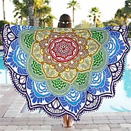 cheap Home Textiles-Superior Quality Beach Towel, Jacquard 100% Polyester 1 pcs