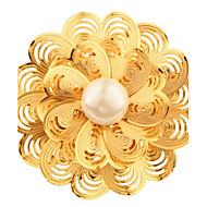 Dames Broches Imitatie Parel Bloemen  Imitatieparel Modieus Parel Sieraden Voor Bruiloft Feest Dagelijks Causaal