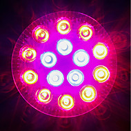 hesapli -1620-1800 lm E27 Büyüyen Ampuller 18 led Yüksek Güçlü LED Kırmızı Mavi AC 85-265V