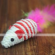 お買い得  -ティーザー / 猫じゃらし マウス 繊維 用途 猫用おもちゃ