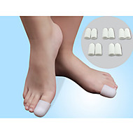 Πόδι Χειροκίνητο Toe Διαχωριστικό & κάλο Pad Γιλέκο για σωστή στάση του σώματος Φορητό σιλικόνη