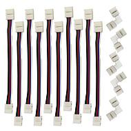 お買い得  -ZDM® 10個 電気ケーブル プラスチック