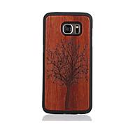 Για Με σχέδια tok Πίσω Κάλυμμα tok Δέντρο Σκληρή Ξύλο για Samsung S7 edge S7