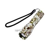 U'King LED Lommelygter LED 2000 Lumen 5 Tilstand Cree XM-L T6 18650 AAA Justerbart Fokus Camping/Vandring/Grotte Udforskning Dagligdags