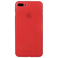 Za Ultra tanko Mutno Θήκη Kućište Θήκη Jedna boja Tvrdo PC za Apple iPhone 7 Plus iPhone 7 iPhone 6s Plus iPhone 6 Plus iPhone 6s iPhone 6