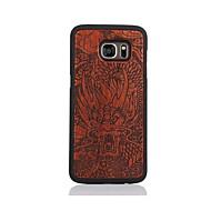 Для С узором Кейс для Задняя крышка Кейс для Мультяшная тематика Твердый Дерево для Samsung S7 edge S7