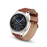 Недорогие Часы для Samsung-Ремешок для часов для Gear S3 Frontier Gear S3 Classic Samsung Galaxy Классическая застежка Кожа Повязка на запястье
