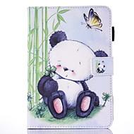 Varten Korttikotelo Tuella Flip Kuvio Magneetti Etui Kokonaan peittävä Etui Eläin Kova Tekonahka varten Apple iPad Mini 4 iPad Mini 3/2/1
