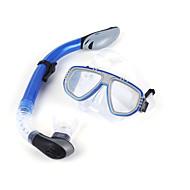 シュノーケル用具セット ダイビングマスク ダイビングパッケージ スノーケル ドライシュノーケル ダイビング&シュノーケリング スキューバ ポリ塩化ビニル シリコーン-WINMAX