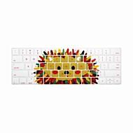 halpa -xskn® englanti siili silikoninäppäimistö ihon ja touchbar suojelija 2016 uusin MacBook Pro 13,3 / 15,4 kosketusnäytöllä bar verkkokalvon