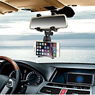 cheap Cell Phone Universal Accessories-Car Phone Holder Car Rearview Mirror Mount Phone Holder For iPhone Samsung GPS Smartphone Stand Universal