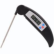 abordables Termómetros-plegable instantánea termómetro de cocina lectura de alto rendimiento termómetro de carne alimentos digitales