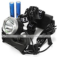 U'King Headlamps Headlight LED 2000 lm 3 Mode Cree XM-L T6 with Batteries Zoomable Adjustable Focus Compact Size Easy Carrying High Power