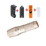 U'King LED손전등 손전등 키트 LED 2000 lm 5 모드 Cree XM-L T6 조절가능한 초점 줌이 가능한 용 캠핑/등산/동굴탐험 일상용 멀티기능 야외 네