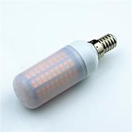 halpa LED Bi-Pin lamput-1kpl 5W 600lm E14 G9 GU10 E27 E12 LED Bi-Pin lamput T 180 LED-helmet SMD 2835 Koristeltu Lämmin valkoinen Kylmä valkoinen 220V 85-265V