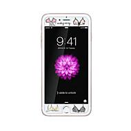 для Apple Iphone 6 / 6с 4.7inch закаленное стекло прозрачно протектор с выбивают мультфильм шаблон светятся в темноте бюстгальтеров