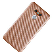 Для Ультратонкий Кейс для Задняя крышка Кейс для Один цвет Мягкий TPU для LG LG K10 LG K8 LG G6