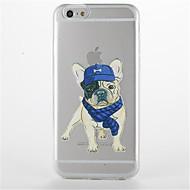 Для Прозрачный С узором Кейс для Задняя крышка Кейс для С собакой Мягкий TPU для AppleiPhone 7 Plus iPhone 7 iPhone 6s Plus iPhone 6 Plus