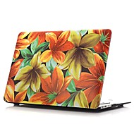 """お買い得  MacBook 用ケース/バッグ/スリーブ-MacBook ケース フラワー / 油絵 PVC のために 新MacBook Pro 15"""" / 新MacBook Pro 13"""" / MacBook Pro 15インチ"""