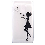 Для Ультратонкий Прозрачный С узором Кейс для Задняя крышка Кейс для Соблазнительная девушка Мягкий TPU для HuaweiHuawei P8 Lite (2017)