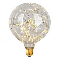 1pcs E27 G95 Star Light 3W LED Filament Bulbs Christmas String Lights Decorative Holiday Lights AC85-265V