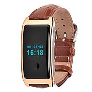 HFQ Bluetooth Смарт-браслетЗащита от влаги Длительное время ожидания Педометры Спорт Пульсомер будильник Сенсорный экран Отслеживание сна