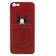 abordables Ofertas de Hoy-Funda Para Apple iPhone 7 / iPhone 7 Plus Diseños Funda Trasera Perro Suave TPU para iPhone 7 Plus / iPhone 7 / iPhone 6s Plus