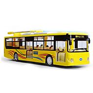 Terugtrekvoertuigen Speelgoedauto's Pre-Built & Diecast Models Bus Speeltjes Bus Metaallegering Metaal Stuks Kinderen Jongens Geschenk