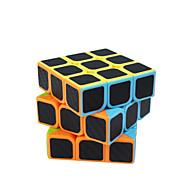 hesapli Oyuncaklar & Hobi Gereçleri-Rubik küp Karbon fiber 3*3*3 Pürüzsüz Hız Küp Sihirli Küpler bulmaca küp Mat Hediye Unisex