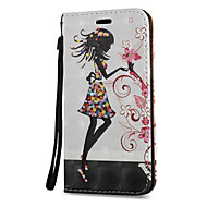 For Samsung Galaxy Note 5 Note 4 Case Cover Angel Pattern 3D Painted Relief Super Strong Magnetic Adsorption PU Material Phone Case Note 3