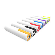 Недорогие Портативные аккумуляторы-Назначение Внешняя батарея Power Bank 5 V Назначение # Назначение Зарядное устройство Автоматическая регуляция силы тока / Сменная батарея LED