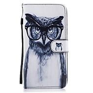 Для Кошелек Бумажник для карт со стендом Флип С узором Кейс для Чехол Кейс для Сова Твердый Искусственная кожа для SamsungS8 S8 Plus S7