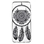 Недорогие Чехлы и кейсы для Galaxy S8-Кейс для Назначение SSamsung Galaxy S8 Plus S8 Прозрачный С узором Кейс на заднюю панель Ловец снов Мягкий ТПУ для S8 Plus S8 S7 edge S7