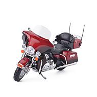 Terugtrekvoertuigen Speelgoedauto's Motorfietsen Speeltjes Simulatie Motorfietsen Metaallegering Metaal Stuks Unisex Geschenk