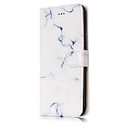 Для Кошелек Бумажник для карт со стендом Флип С узором Кейс для Чехол Кейс для Мрамор Твердый Искусственная кожа для AppleiPhone 7 Plus