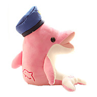 cheap Toys & Hobbies-Stuffed Toys Doll Stuffed Animals Plush Toy Toys Dolphin Cute Unisex 1 Pieces