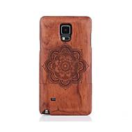 Для С узором Кейс для Задняя крышка Кейс для Мандала Твердый Дерево для Samsung Note 5 Note 4