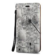 Для Бумажник для карт со стендом Флип С узором Магнитный Кейс для Чехол Кейс для Одуванчик Твердый Искусственная кожа для SamsungS8 S8