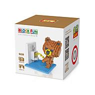 お買い得  おもちゃ & ホビーアクセサリー-3Dパズル LOZダイヤモンドブロック おもちゃ ベア DIY 子供用 小品