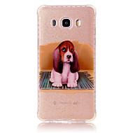 voordelige Galaxy J3(2016) Hoesjes / covers-hoesje Voor Samsung Galaxy J7 Prime J5 Prime Schokbestendig IMD Patroon Achterkant Hond Zacht TPU voor J7 Prime J7 (2016) J5 Prime J5
