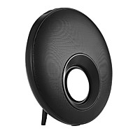 preiswerte Lautsprecher-Bult-Mikrofon Bluetooth 3.0 3.5 mm AUX Wireless Bluetooth-Lautsprecher Schwarz