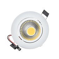 9W 2G11 Luces LED Descendentes Luces Empotradas 1 COB 820 lm Blanco Cálido Blanco Fresco K Regulable Decorativa AC 100-240 AC 110-130 V