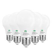お買い得  LED ボール型電球-5W E26/E27 LEDボール型電球 10 SMD 2835 400-500 lm 温白色 ホワイト 装飾用 AC100-240 V 5個