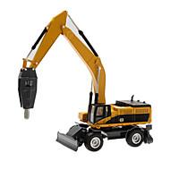 Fahrzeuge aus Druckguss Spielzeugautos Spielzeuge Baustellenfahrzeuge Bulldozer Aushubmaschine Spielzeuge Ente Aushebemaschinen