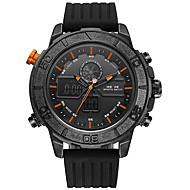 Недорогие Фирменные часы-WEIDE Муж. Наручные часы / Армейские часы / Спортивные часы Японский Будильник / Календарь / Защита от влаги PU Группа На каждый день