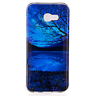 voordelige Galaxy A3(2016) Hoesjes / covers-hoesje Voor Samsung Galaxy A5(2017) A3(2017) IMD Patroon Achterkant Landschap Zacht TPU voor A3 (2017) A5 (2017) A7 (2017) A5(2016)