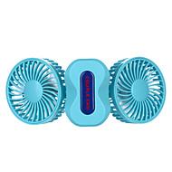 Usb handheld ventilator opladen mini fan dubbele vouw ventilator fans kunnen kleine outdoor fans dragen